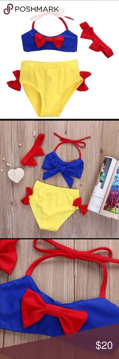 360cfa12bfc Snow White Bikini Suit for toddler Super cute and stylish swimming suit for  toddlers! Snow