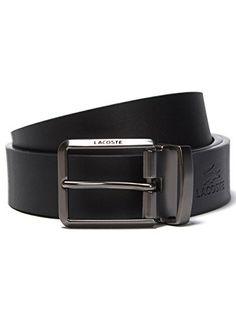 Lacoste Premium Leather Belt and 2 Buckles size 34 Set in Black/Brown, http://www.amazon.com/dp/B00L2ZWRYY/ref=cm_sw_r_pi_awdm_D2nEub0WHZQM5