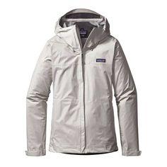 Patagonia Womens Torrentshell Rain Jacket in Birch White 83807-BCW