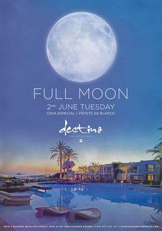 Full Moon Party at Destino Ibiza