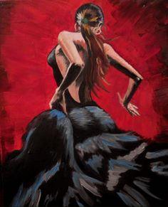 Flamenco | Копии картин mirkartin.biz1899 × 2347Buscar por imagen Холст, масло, мастихин. Копия картины художника Fabian Perez.  gonzalo conradi pintor - Buscar con Google