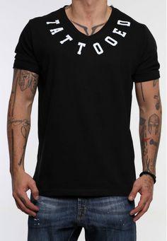 V tattooed #vagrancylifestyle #handmade #tops #man V Tattoo, V Neck, Lifestyle, Mens Tops, T Shirt, Handmade, Women, Fashion, Hand Made