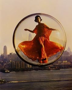 Simone D'Aillencourt for Harper's Bazaar 1963 Spring Collection by Melvin Sokolsky