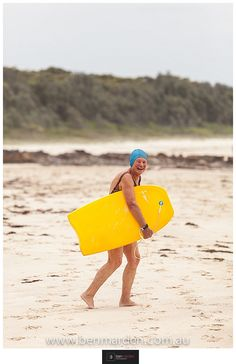 Your never too old to Boogie Board