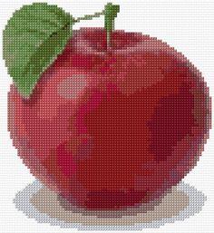 Cross Stitch | Apple xstitch Chart | Design