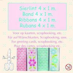 Nieuw bij Knutselparade: Lint assortiment stylish 1 86 8732 https://knutselparade.nl/nl/versieringen/6258-lint-assortiment-stylish-1-86-8732.html   Scrapbook, Scrapbookversieringen, Versieringen, Lint -