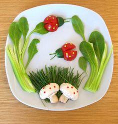 Ensinando as crianças a comer bem