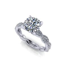 Searching for Artistic engagement rings? The Scrolling Artisan Engagement Ring by Jewelry Designs may inspire you.