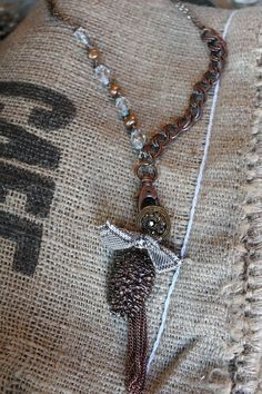 Fall for Fall necklace by HaveFaithDesigns on Etsy