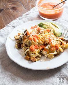 Juurespyttipannu / Root Vegetables, Eggs, Salmojero-sauce
