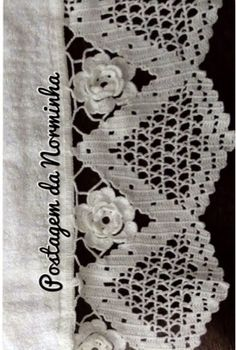 Ponto Preso1: Croche - Barrando em Branco Total...