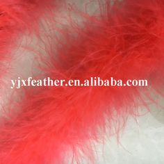 wholesale fluffy turkey marabou feather boa