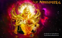 To view Narasimha Deva wallpapers in difference sizes visit - http://harekrishnawallpapers.com/sri-narasimha-deva-artist-wallpaper-004/
