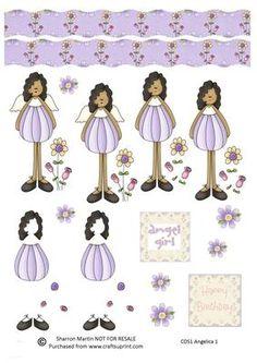 CDS1 Angelica 1 on Craftsuprint - Add To Basket!