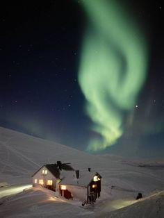 Lapland. Scandinavia. Europe. Northern Lights.