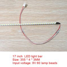 50pcs Ccfl Lamps Wire Cable 60cm With 2pin Connector Support 8-19 Inch Lcd Laptop Excellent In Quality