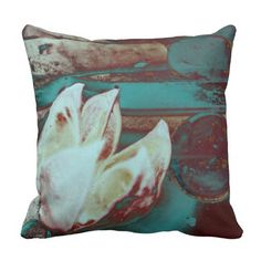 Artistic Water Lilly in Red and Blue / Square Pillow. Also check out this link for free coupon offers to get it cheaper! https://www.zazzle.com/coupons?rf=238298069376789985&tc=pin