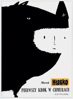 馬立克Hlasko:雲中的第一步,本書的封面,1956年。