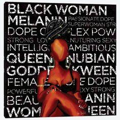Canvas Artwork, Canvas Frame, Canvas Wall Art, Canvas Prints, Black Love Art, Black Girl Art, African American Art, African Art, Female Art