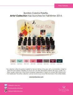 #bonitacolors Fall 2014 collection