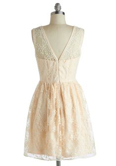 Lily of the Valley Dress | Mod Retro Vintage Dresses | ModCloth.com