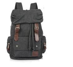 Black Max Big Leisure men's Backpack School Bag Shoulder Bag IPAD Laptop Backpack Travel Mountain climbing package on Etsy, $38.00