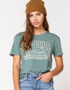 RIPCURL Sunset Session Tee Modest Outfits, Outfits For Teens, Casual Outfits, Girl Outfits, Summer Outfits, Cute Outfits, School Outfits, Fashion Outfits, Surfer Girl Style