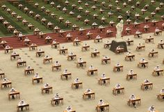 Exam Taking From Around The World