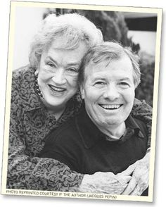 Jacques Pepin and Julia