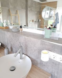 Zimmer deko ideen Our bathroom geplant Specially planned and implemented and very proud of it! Living Room Decor, Living Spaces, Backyard Hammock, Set Of Drawers, Good Morning Sunshine, Old Dressers, Ceiling Tiles, Night Lamps, Other Rooms