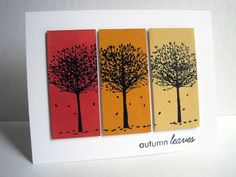 Autumn Leaves by lisaadd - Cards and Paper Crafts at Splitcoaststampers