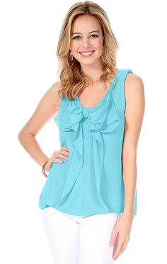 Revelry Thandie Convertible Bow Top in turquoise chiffon from our Breezie Chiffon Collection. Mix and Match styles starting from $39 for group orders. We specialize in group orders - large or small - for sorority recruitment and bridesmaids. Order a sample box and try on at home! Find out more by visit www.shoprevelry.com!