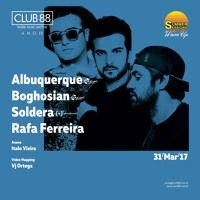 Albuquerque & Boghosian @ Club 88 March 31, 2017 Brazil de Club88oficial na SoundCloud