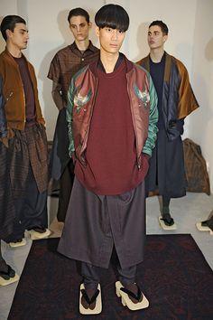 Edward Crutchley (Fashion East Men's Presentations) AW15 #LCM