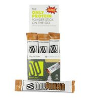 On-the-go Only Protein Protein Powder Sticks--LOVE THESE!!! Great for traveling.