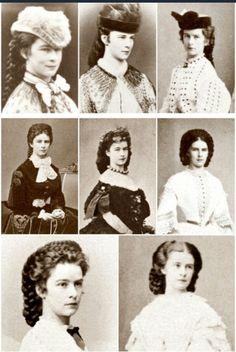 Empress of Austria Austria, Die Habsburger, Elisabeth 1, Empress Sissi, Kaiser Franz, Julia Margaret Cameron, Fashion Through The Decades, Princesa Real, Civil War Fashion