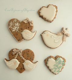Cookies con chips de chocolate decoradas