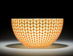 Cantaloupe Bowl by Carrie Gustafson. loriwarner.com