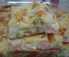 Receita de Torta de Queijo, Presunto e Frango - Show de Receitas                                                                                                                                                                                 Mais
