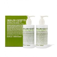 For the GUYS: Malin + Goetz Rum and Lime Holiday Hand Wash Set