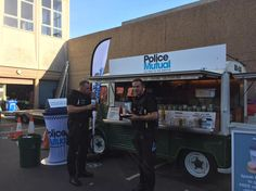 "Five Star Catering on Twitter: ""Hugo's second stop on the #PoliceMutual tour, #Doncaster #vintage #catering http://t.co/YyI3enaJCo"""