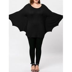 SHARE & Get it FREE | Plus Size Halloween Batwing T-shirtFor Fashion Lovers only:80,000+ Items·FREE SHIPPING Join Dresslily: Get YOUR $50 NOW!