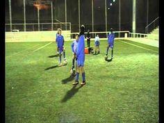 Juegos aplicados al futbol  1,2,3 pica pared