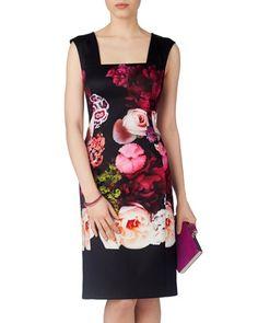Kazuma Flower Dress