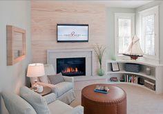 Coastal Interiors. Coastal Decor. Beautiful home with coastal interiors and subtle coastal decor. #CoastalInteriors #CoastalHomes #CoastalHomes #EasyCoastalDecorIdeas