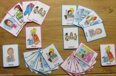 Basic School morning routine cards~Communication~ SEN~Autism~Learning~Home use
