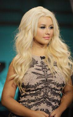 Christina, I love her hair and make up