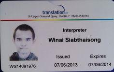 Learn Thai with Thai-English Interpreter ( Native Thai )-VDO & AUDIO & PDF & Services
