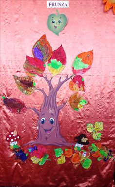 Classroom Decor, Autumn Leaves, Activities For Kids, Disney Princess, Disney Characters, Painting, Art, Art Background, Fall Leaves