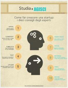Come far crescere una #startup: dieci consigli utili